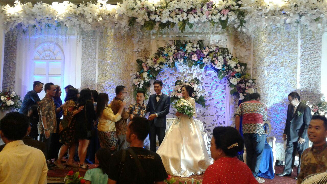 Pernikahan Chico dan Lily di Graha Hartika, 25 November 2017