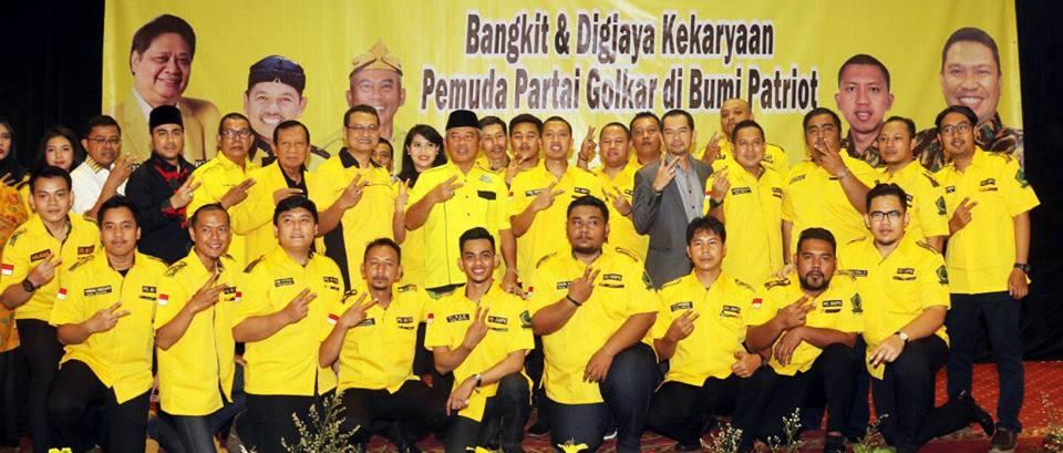 Pelantikan PD AMPG Kota Bekasi periode 2018-2020
