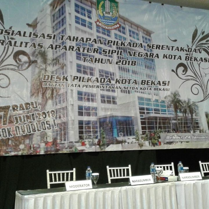Sosialisasi tahapan Pilkada Serentak untuk Aparatur Sipil Negara Kota Bekasi